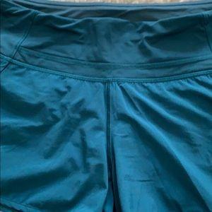 Lululemon run time high waisted shorts size 6